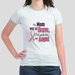 Angel 1 (Mom BC) Jr. Ringer T-Shirt
