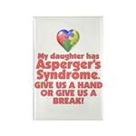Give Us A Hand Rectangle Magnet (10 pack)