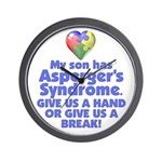 Give Us A Hand Wall Clock