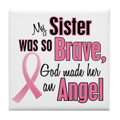Angel 1 (Sister BC) Tile Coaster