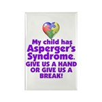 Give Us A Hand Rectangle Magnet (100 pack)