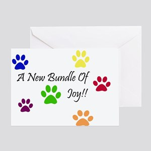 c2892d43b50 Congratulations On Your New Puppy Greeting Cards - CafePress