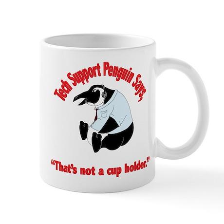 Tech Support Penguin - Cup Ho Mug