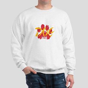 Dog Chinese New Year Shirt Celebrating Sweatshirt