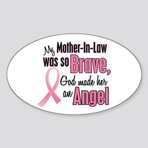 Angel 1 (Mother-In-Law BC) Oval Sticker