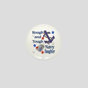 Anchor Sailor Daughter Mini Button
