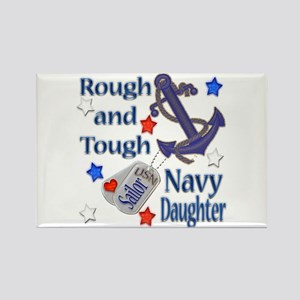 Anchor Sailor Daughter Rectangle Magnet