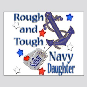 Anchor Sailor Daughter Small Poster