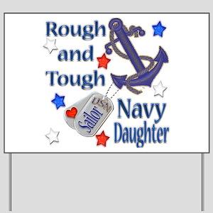 Anchor Sailor Daughter Yard Sign