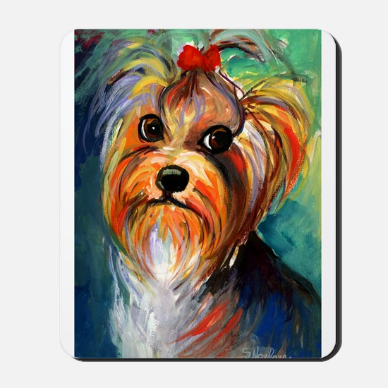 Yorkshire Terrier #1 Mousepad