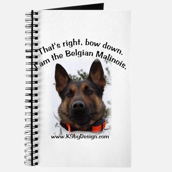 Bow Down Belgian Malinois Journal