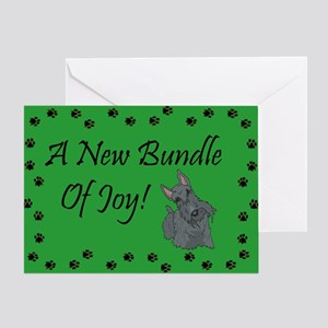 New Scottie Greeting Card