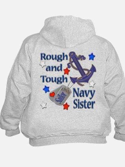 Anchor Sailor Sister Hoodie