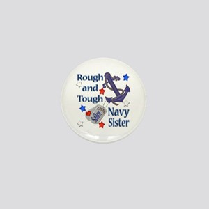 Anchor Sailor Sister Mini Button