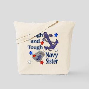 Anchor Sailor Sister Tote Bag