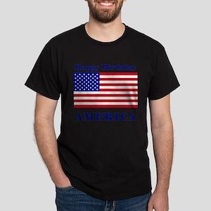 Happy Birthday America Dark T-Shirt