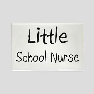 Little School Nurse Rectangle Magnet
