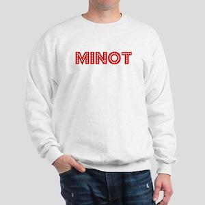 Retro Minot (Red) Sweatshirt