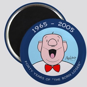 'Born Loser 40th' Magnet