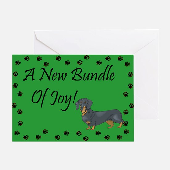 New Doxie Greeting Card