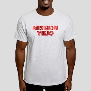 Retro Mission Viejo (Red) Light T-Shirt