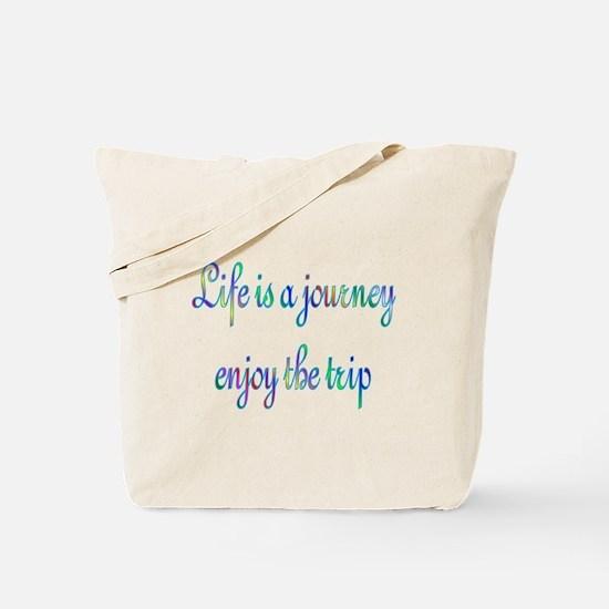 Life Journey Tote Bag