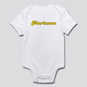 Retro Marianna (Gold) Infant Bodysuit