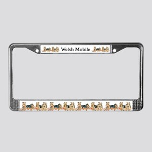 WELSH TERRIER AUTO ACCESSORIE License Plate Frame