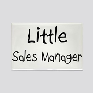 Little Sales Manager Rectangle Magnet