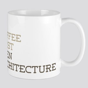 Coffee Then Architecture Mugs