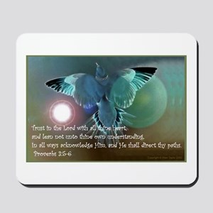 Prov 3:5-6 Trust in the Lord Mousepad