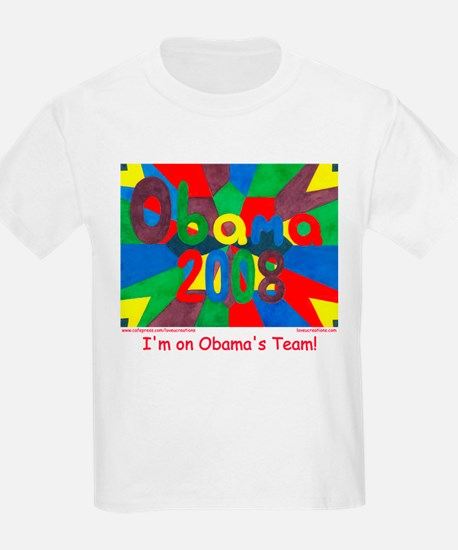 I'm on Obama's Team T-Shirt