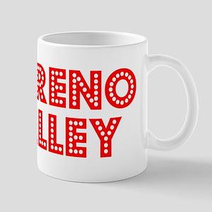 Retro Moreno Valley (Red) Mug