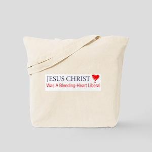 Bleeding Heart Liberals Tote Bag