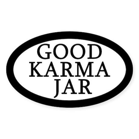 Good Karma Jar Tip Jar Sticker