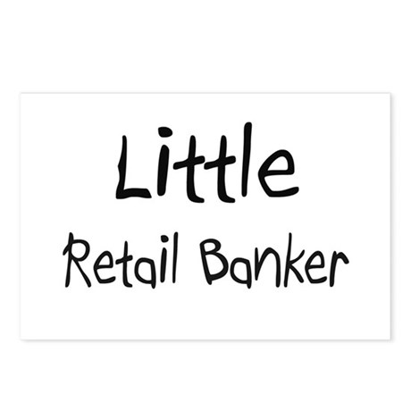 Little Retail Banker Postcards (Package of 8)