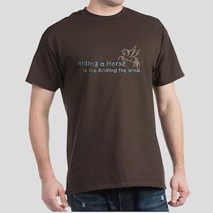 Horse Equestrian Dark T-Shirt