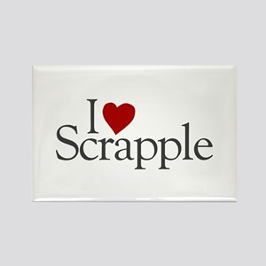 I Love Scrapple (new) Rectangle Magnet