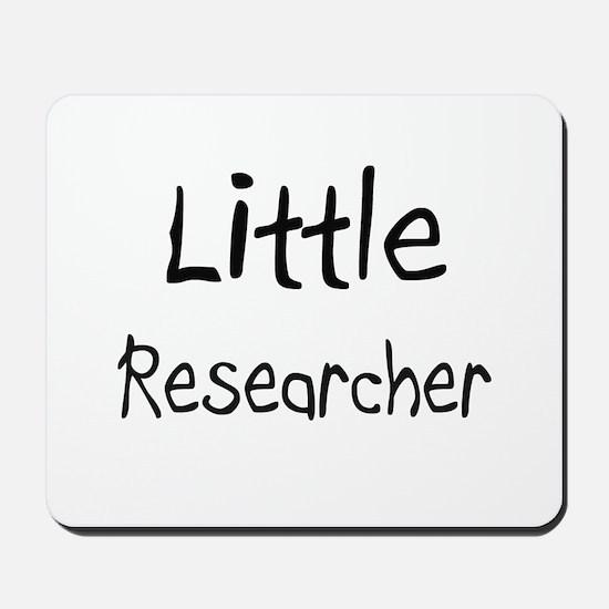 Little Researcher Mousepad