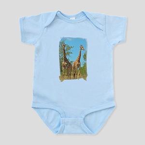Pair of Giraffes Infant Bodysuit