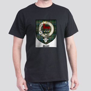 Scott Clan Crest Tartan White T-Shirt