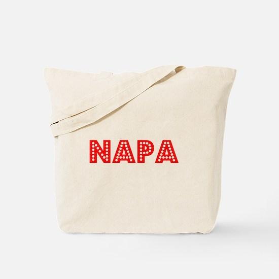 Retro Napa (Red) Tote Bag