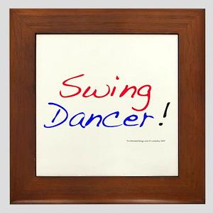 All Swing Dances Framed Tile