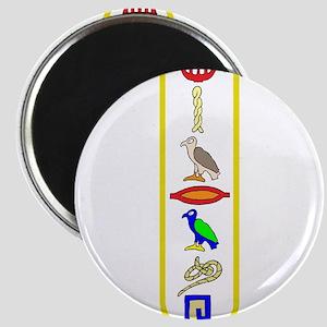 Hieroglyphics Magnet