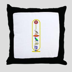 Hieroglyphics Throw Pillow