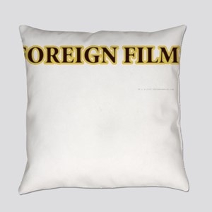 Foreign Films Everyday Pillow