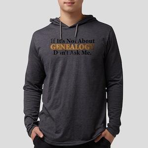 Genealogy Mens Hooded Shirt