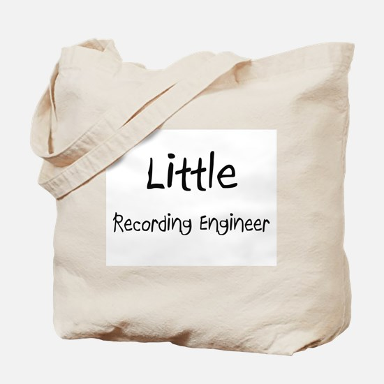 Little Recording Engineer Tote Bag