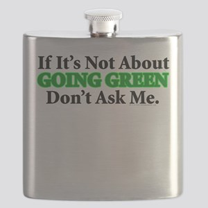 Going Green Flask