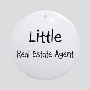 Little Real Estate Agent Ornament (Round)
